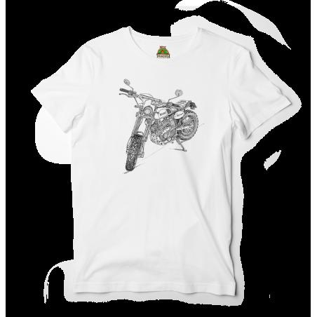 Reptee - T-Shirt bio d\\'artiste - Motobécane