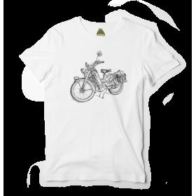 Reptee - T-Shirt bio d\\'artiste - Motobecane 2