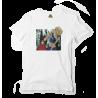 Reptee - T-Shirt bio d\\'artiste - Orange sanguine