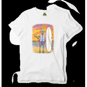 Reptee - T-Shirt bio d\\'artiste - Surf Life