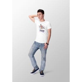 Reptee - T-Shirt bio d\\'artiste - Snowboard improve your style